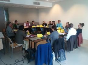 Primo incontro tra ricercatori a Lione, 9-10 ottobre2017