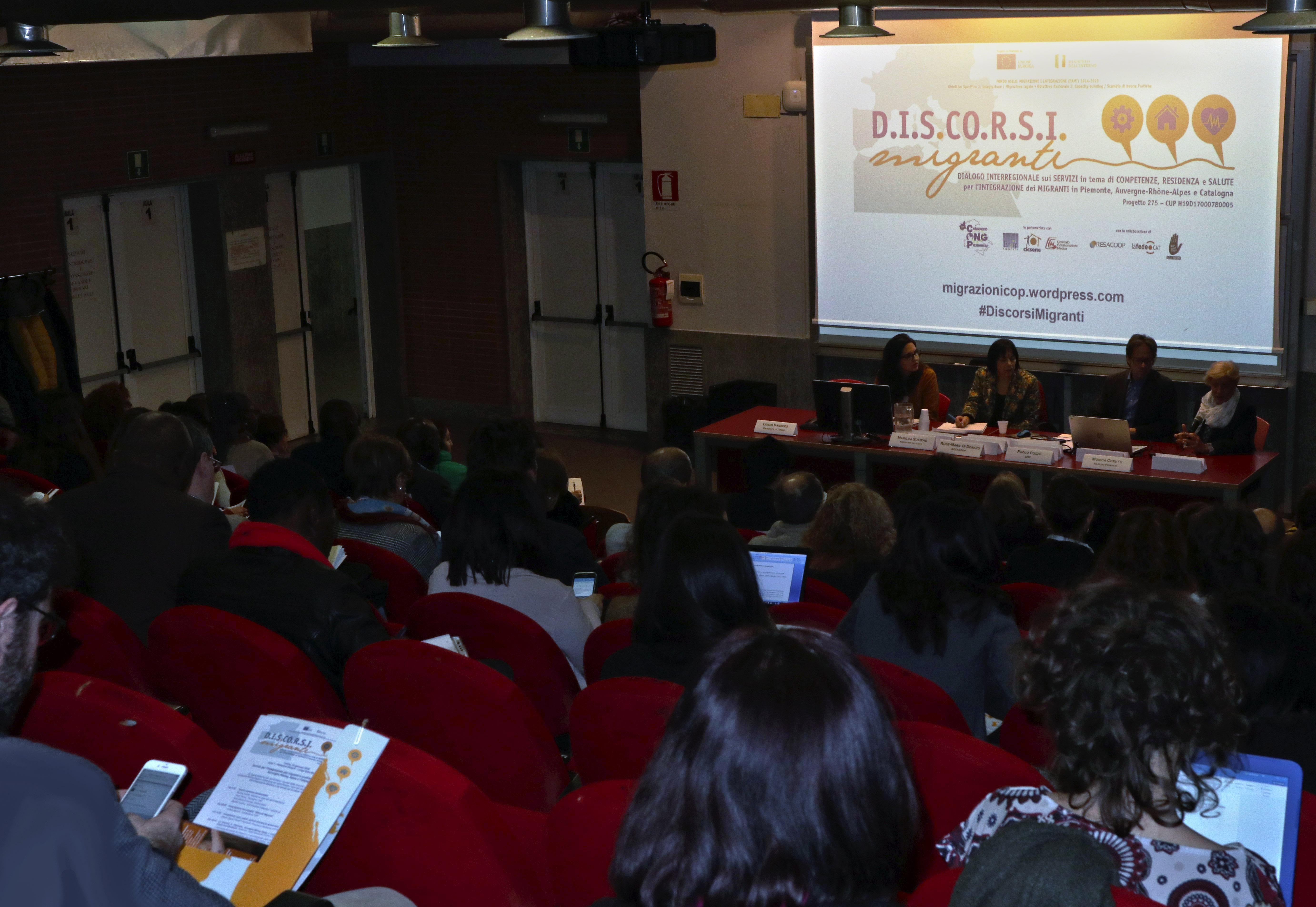 Si conclude il progetto Discorsi Migranti con un Seminario a Torino